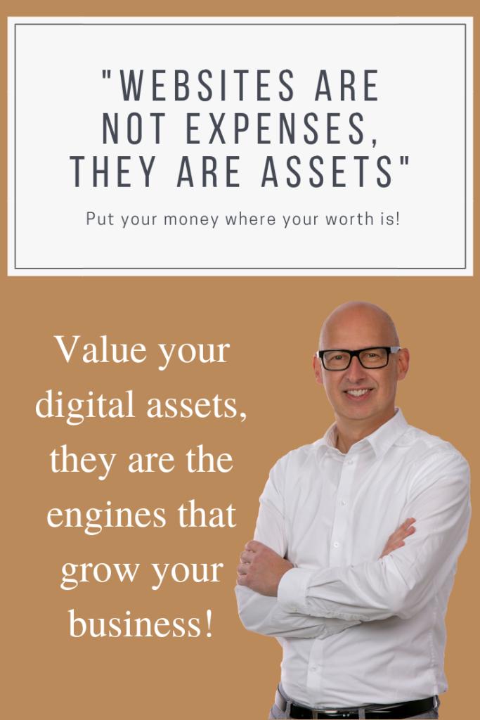 Website valuation by Paul Haarman